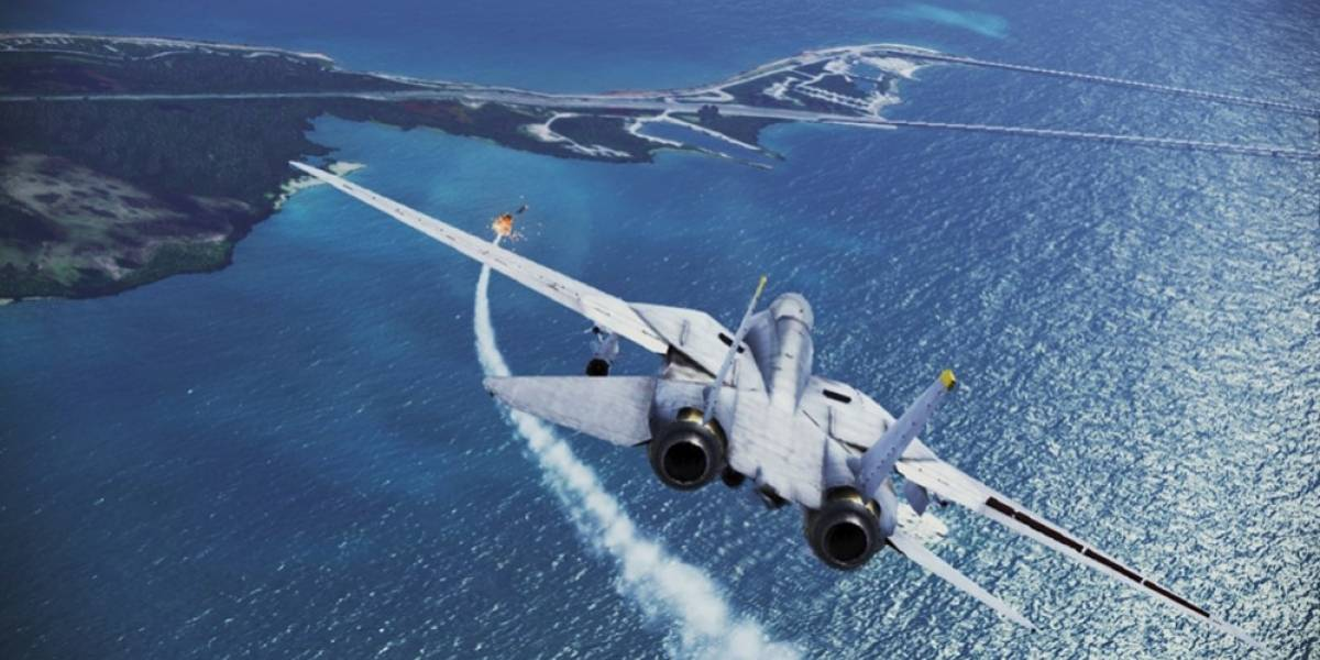 Mira el primer video con jugabilidad de Ace Combat Infinity