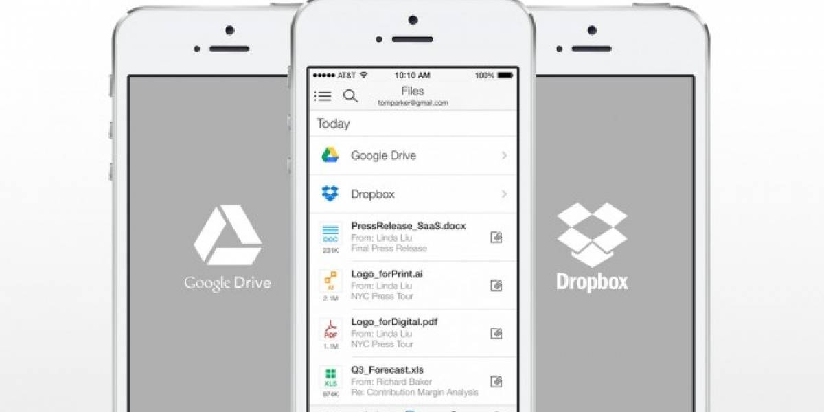 Acompli se actualiza con integración de Dropbox y Google Drive