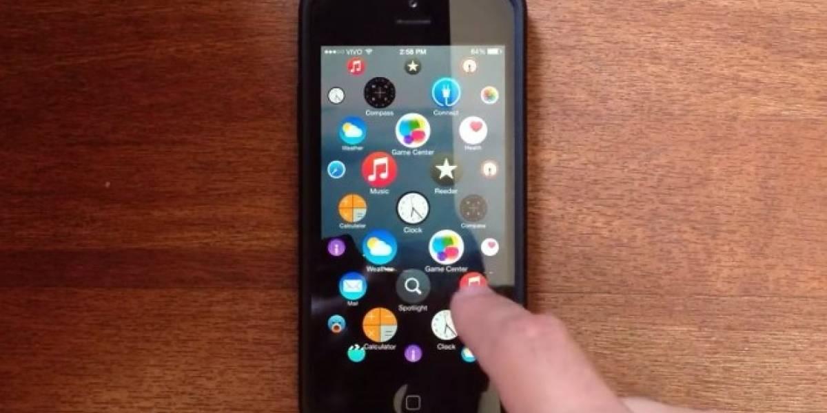 Conoce cómo se vería la interfaz de usuario del Apple Watch en un iPhone