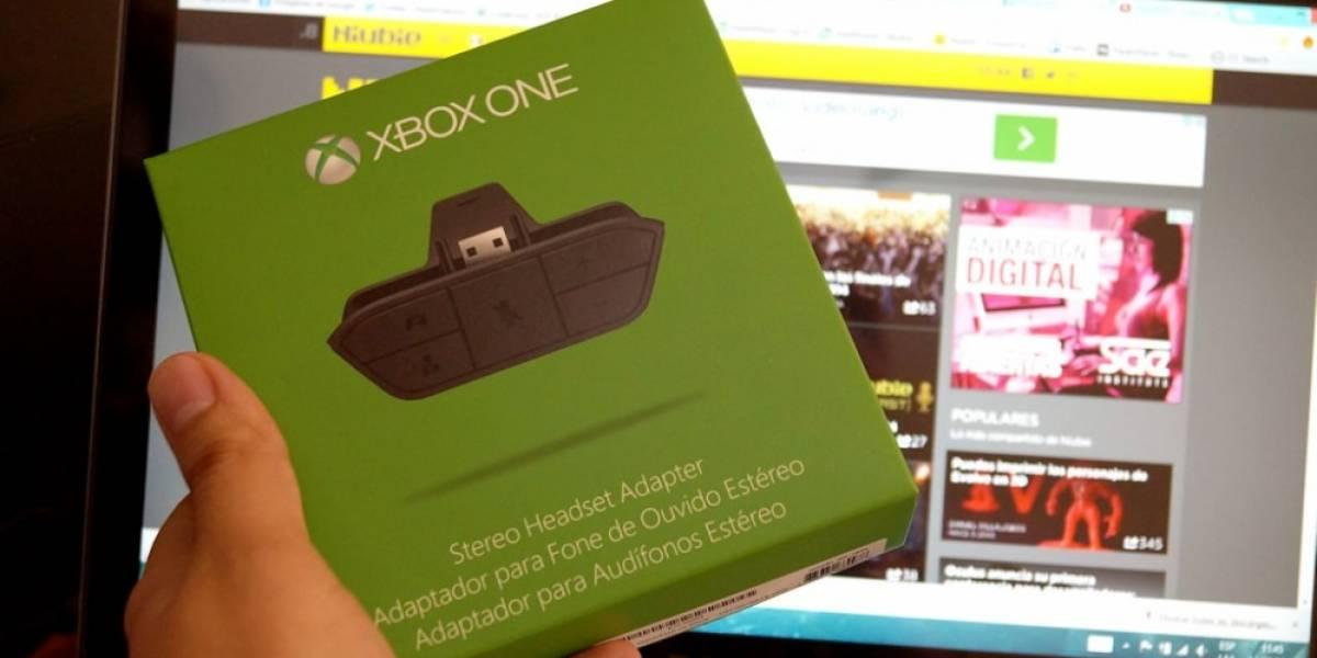 Te regalamos un adaptador de audífonos de Xbox One