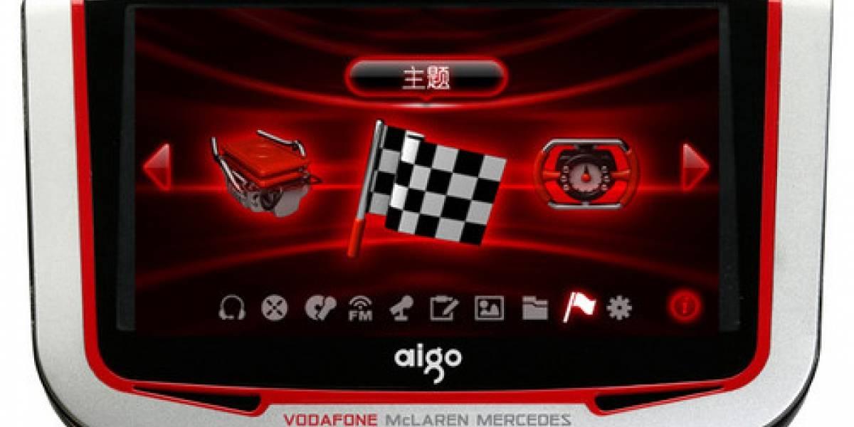 Aigo lanzará un PMP inspirado en Vodafone McLaren Mercedes