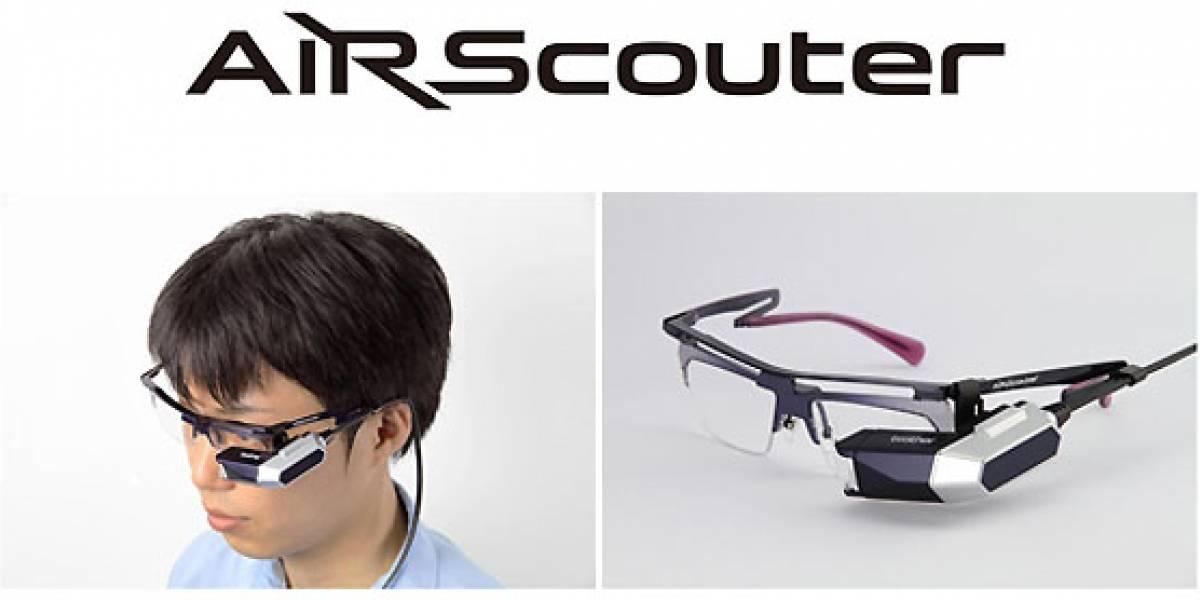 AiRScouter: Gafas que proyectan imágenes directamente en la retina