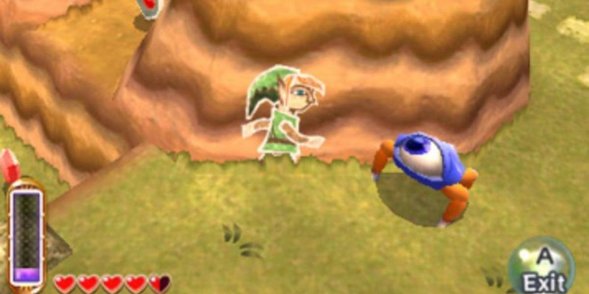 The Legend of Zelda: A Link Between Worlds llegará en noviembre #E3
