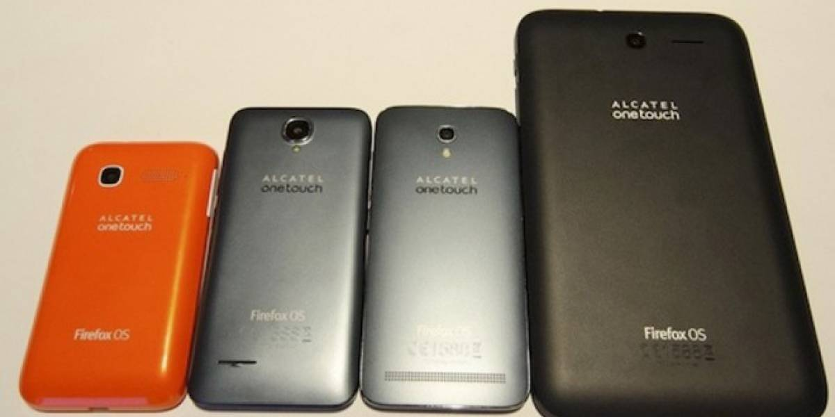 Alcatel presentó tres nuevos smartphones y una tablet con Firefox OS en #MWC14