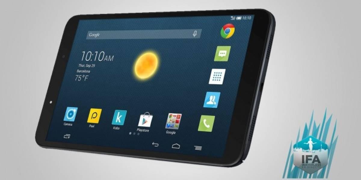 Alcatel presenta su nueva tablet OneTouch Hero 8 #IFA2014