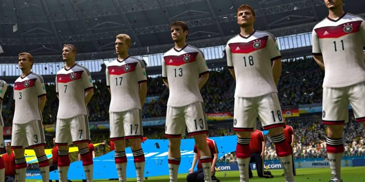 Electronic Arts predice que Alemania ganará el Mundial Brasil 2014