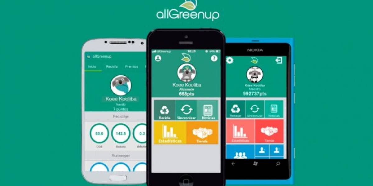 Aplicación allGreenup busca fondos en Indiegogo para expandirse por Latinoamérica