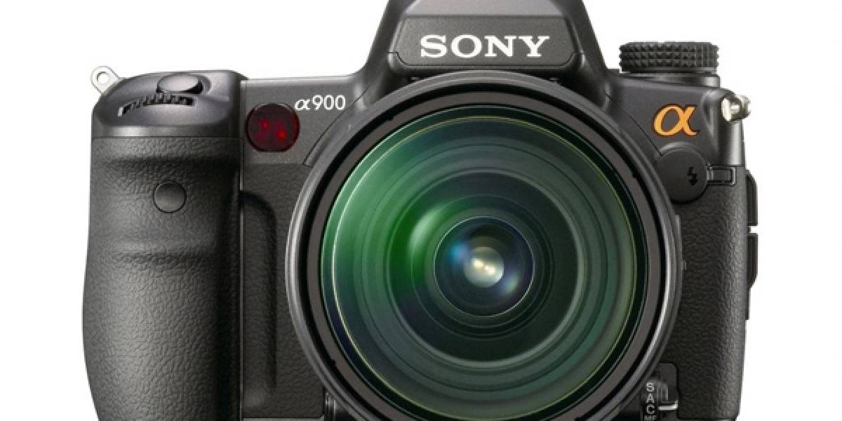 Alpha 900: La DSLR profesional de Sony