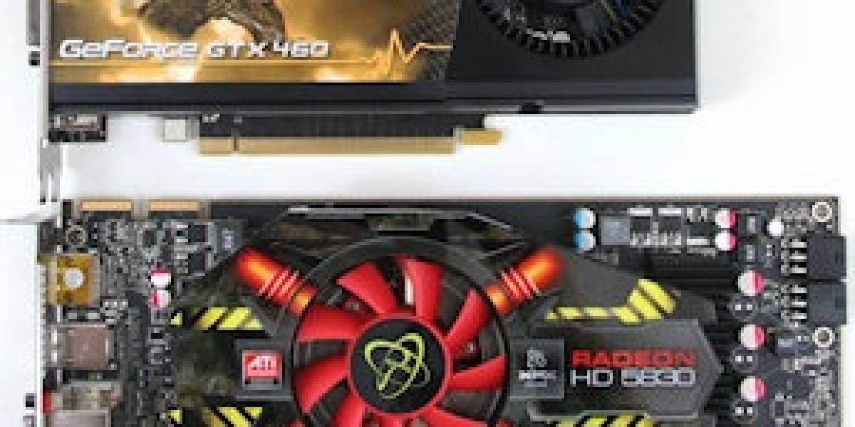 AMD Radeon HD 5830 y Nvidia Geforce GTX 460 768MB rebajan ligeramente sus precios