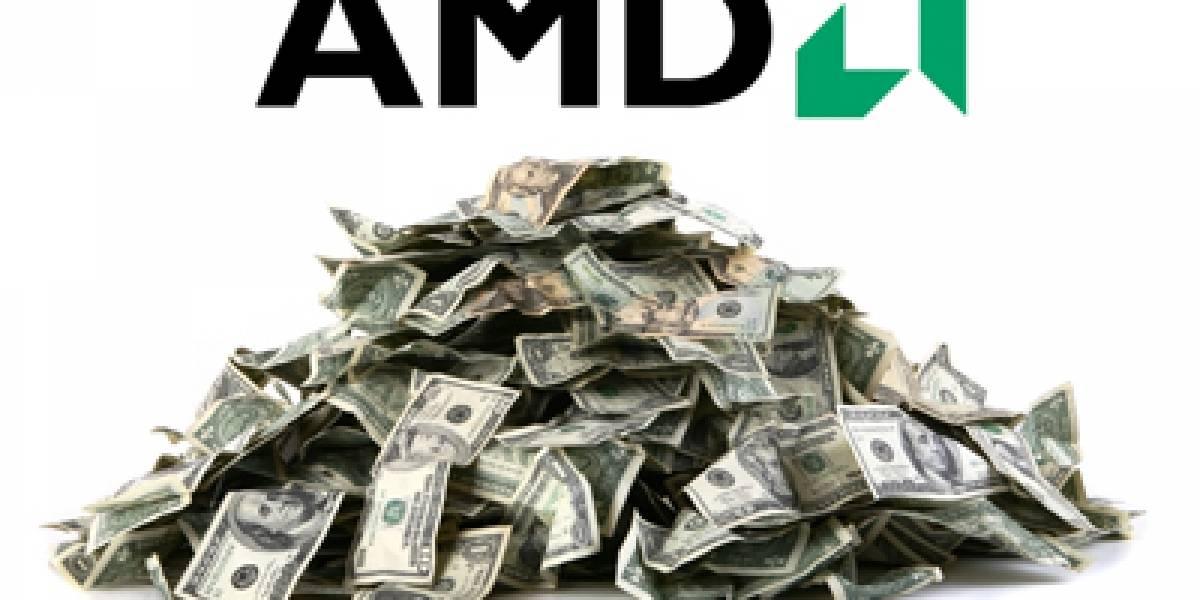 AMD crece económicamente en el último cuarto