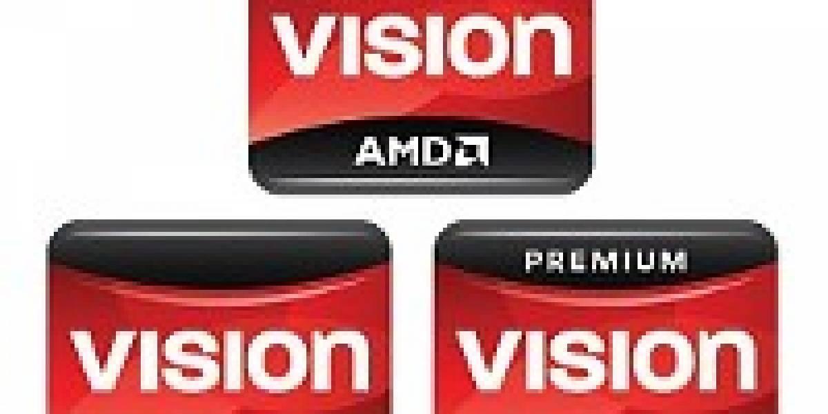Próximas laptops basadas en AMD Vision