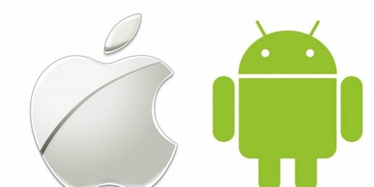 iOS y Android tienen el 96% del mercado de sistemas operativos para smartphones