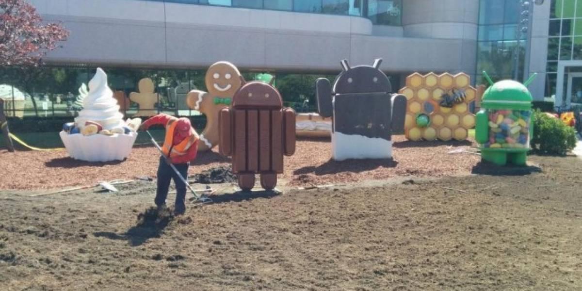 Google podría revelar el nombre oficial de Android L este sábado