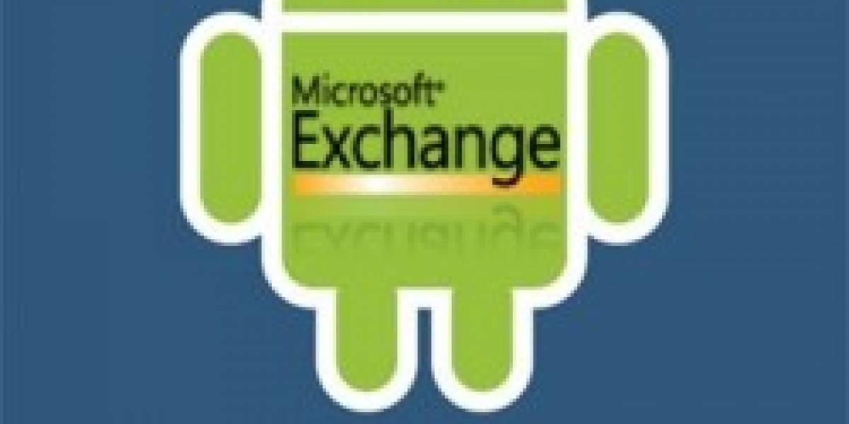 Android tendrá soporte para Microsoft Exchange