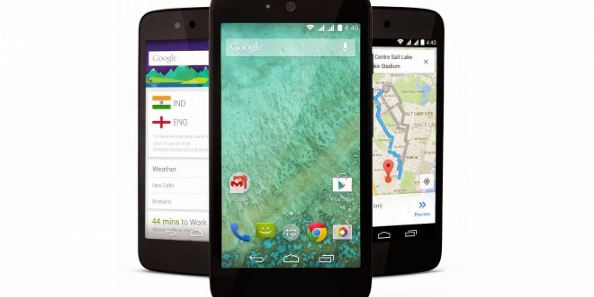 Google anuncia oficialmente los primeros smartphones de bajo costo Android One