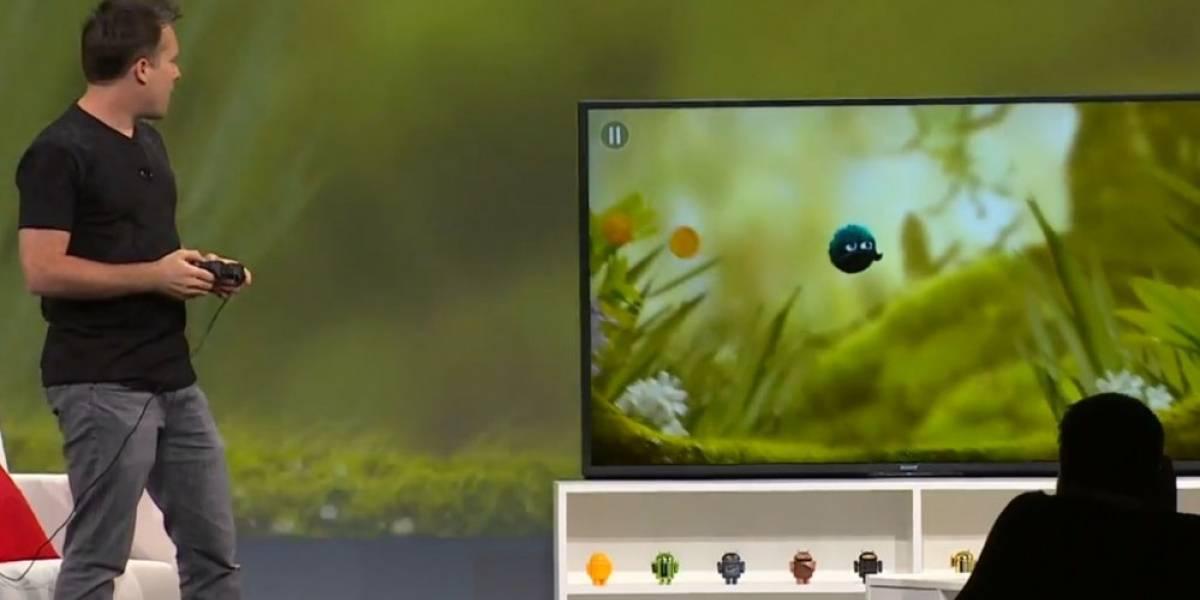 Android TV ofrecerá soporte para videojuegos #IO14