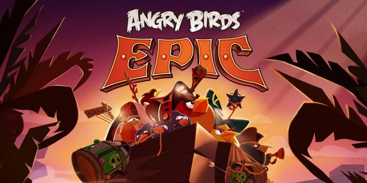 Angry Birds Epic es la nueva aventura de los pájaros enojados