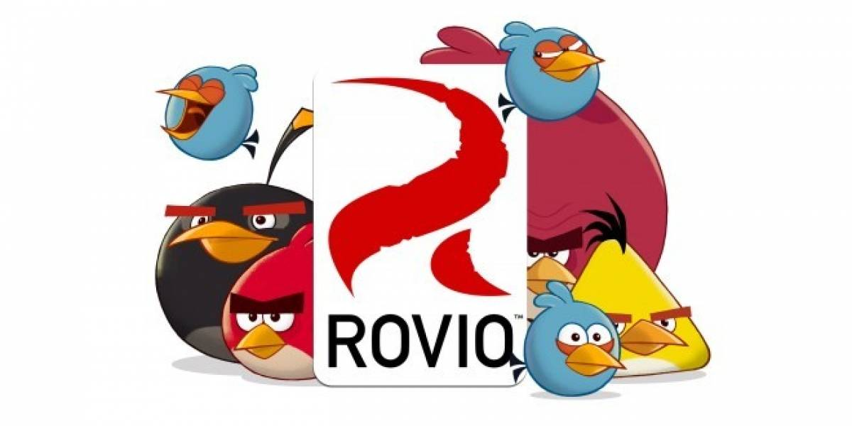 Rovio consiguió grandes ganancias durante 2012