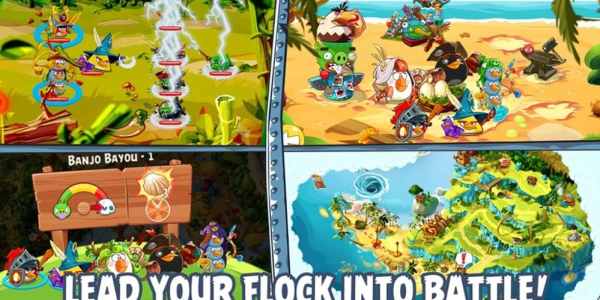 Rovio hace oficial Angry Birds Epic con su primer trailer