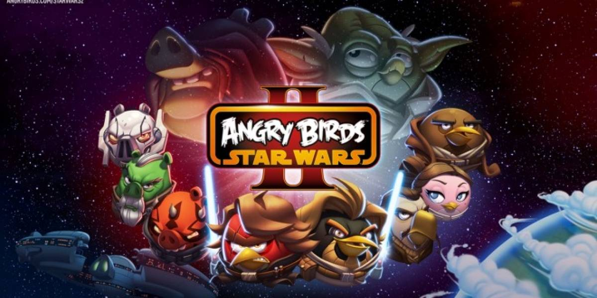 Angry Birds Star Wars II se pondrá disponible en septiembre