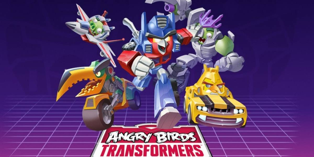 Se anuncia Angry Birds Transformers
