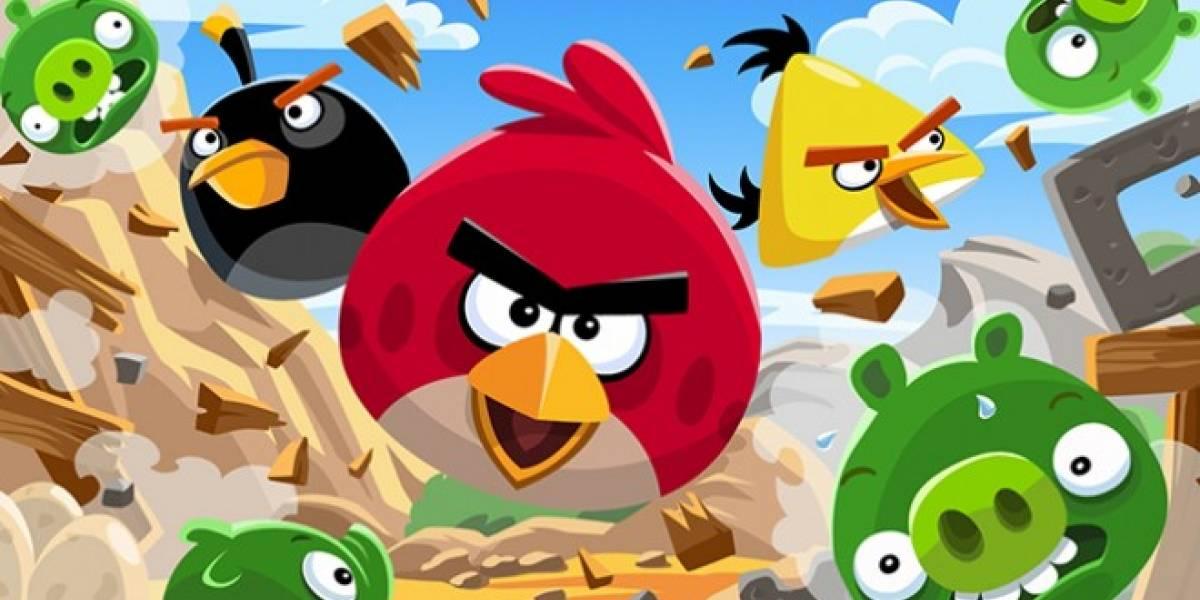 Angry Birds hará su estreno en cines en 2016