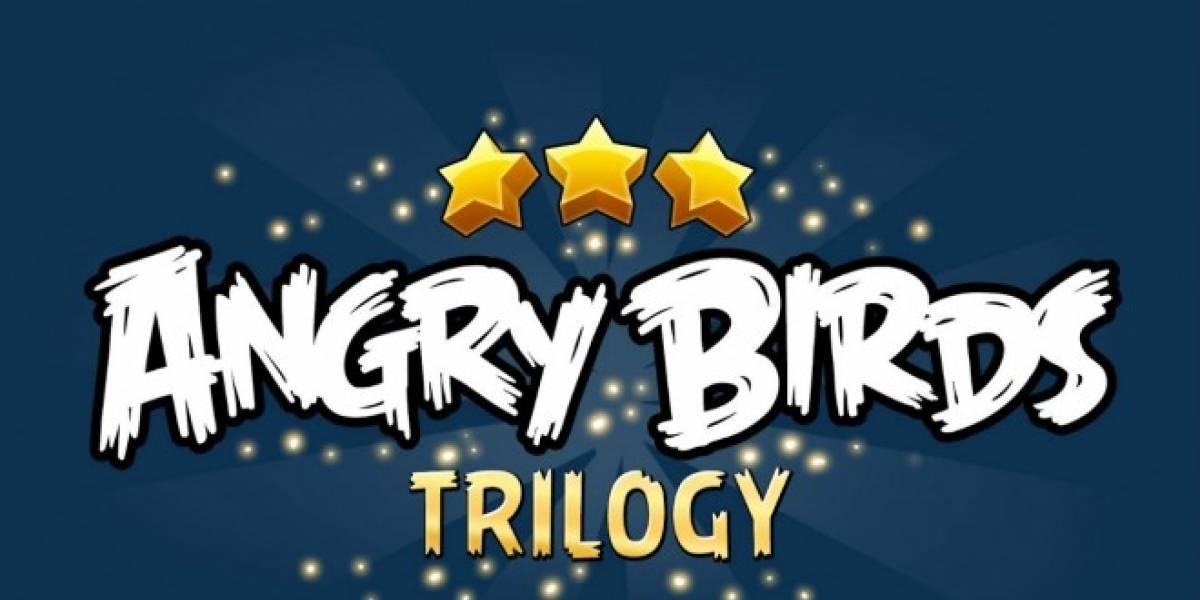 Angry Birds Trilogy también se lanzará en Wii U y Wii