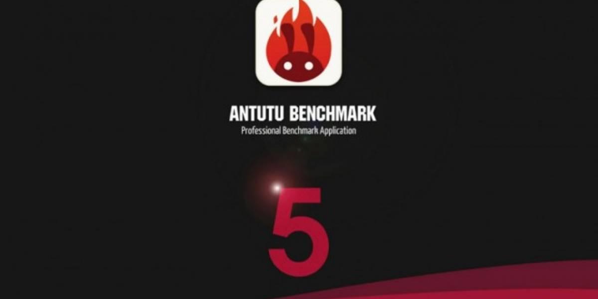 AnTuTu se actualiza a la versión 5.0 agregando nuevas pruebas