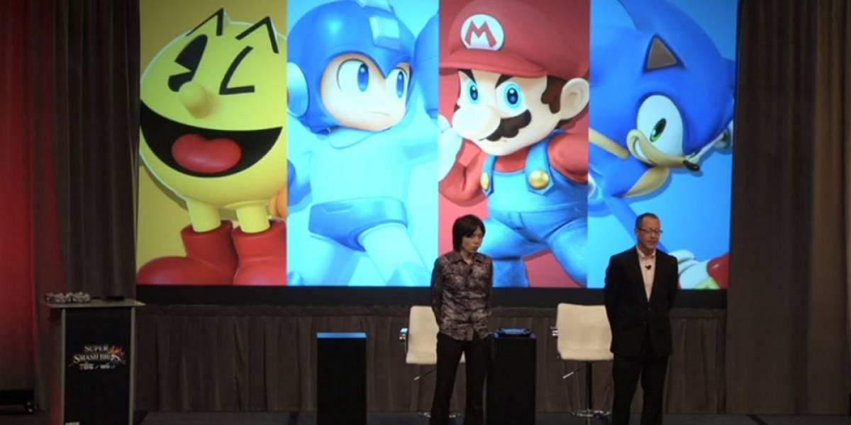 Así se vivió el anuncio de Pac-Man en la conferencia privada de Sakurai #E32014