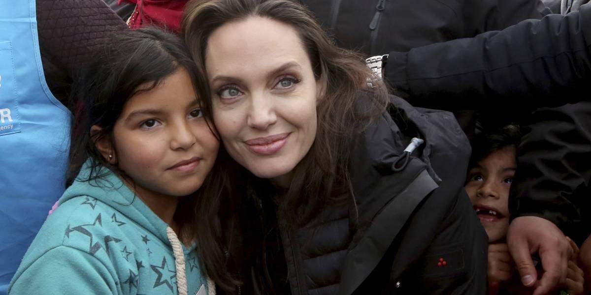 Angelina Jolie pide solución para los refugiados sirios