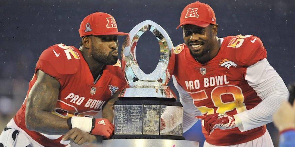 Conferencia Americana viene de atrás para vencer a la Nacional en el Pro Bowl