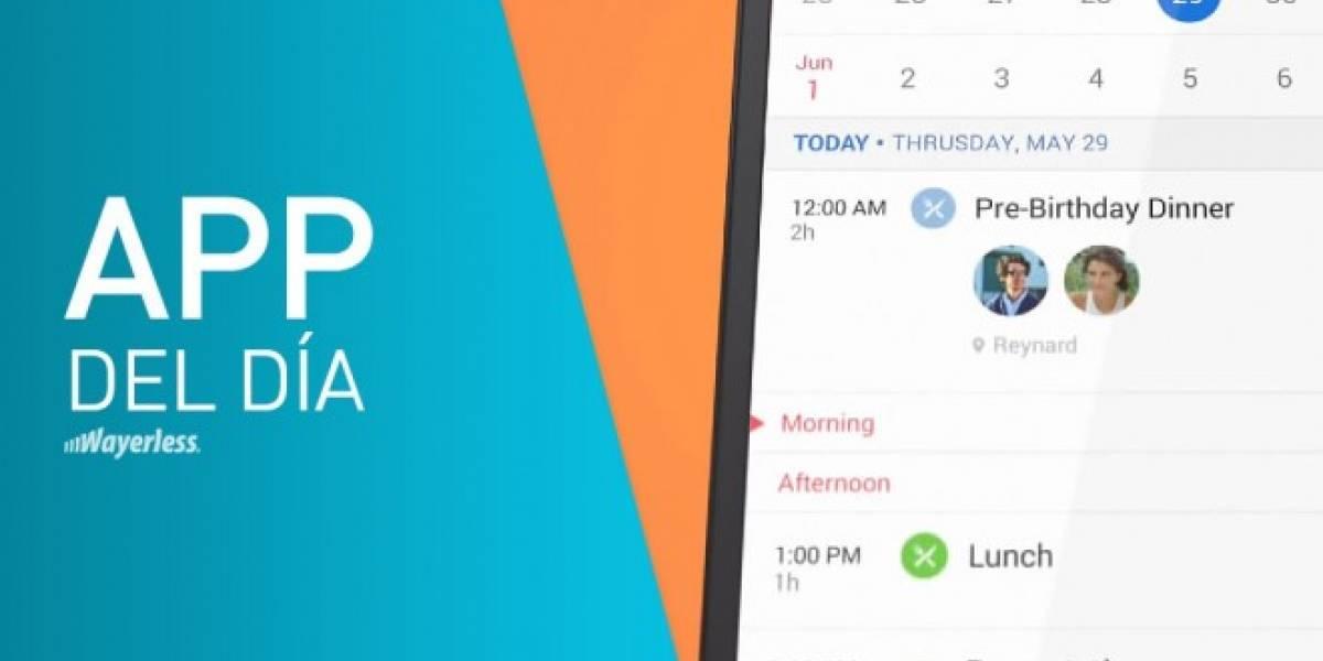 Sunrise, toma el control de tu agenda de un modo sencillo [App del día]