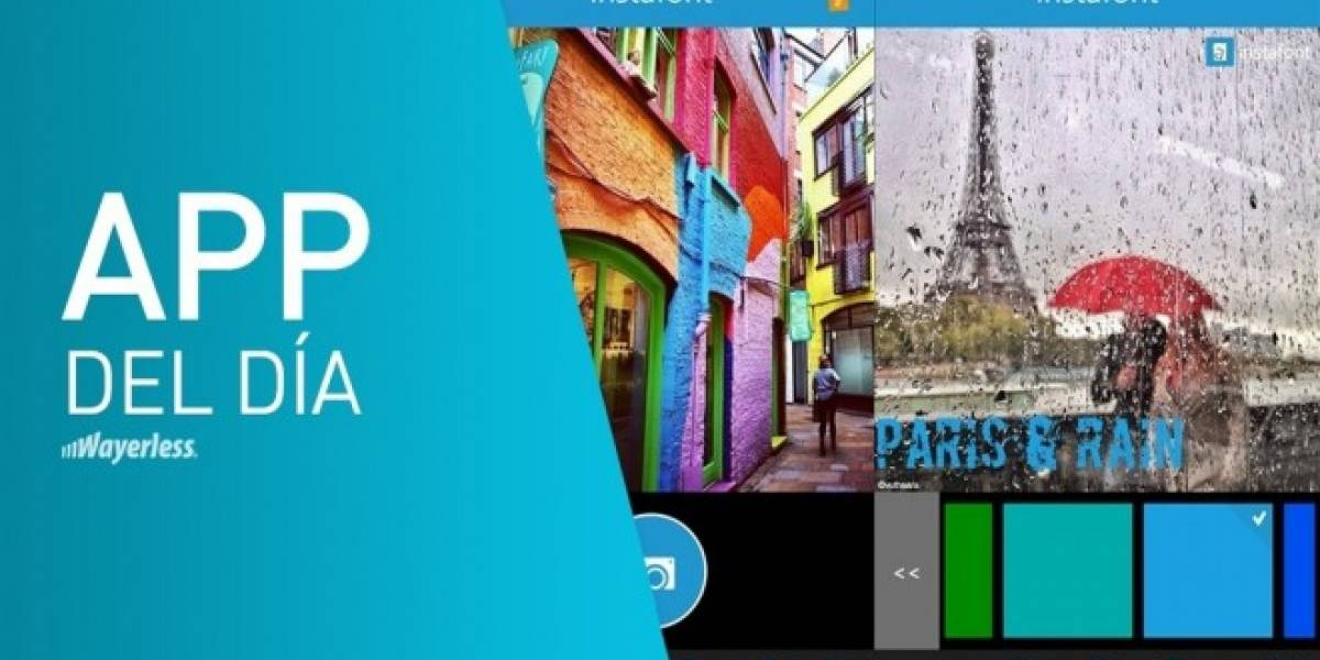 App del día: Instafont