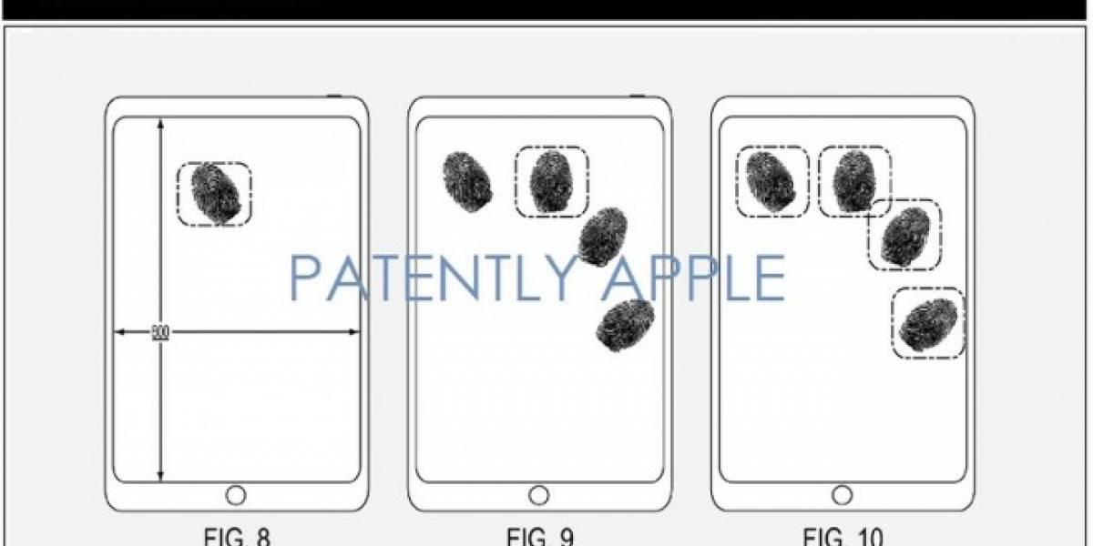Apple podría implementar reconocimiento de huellas en la pantalla