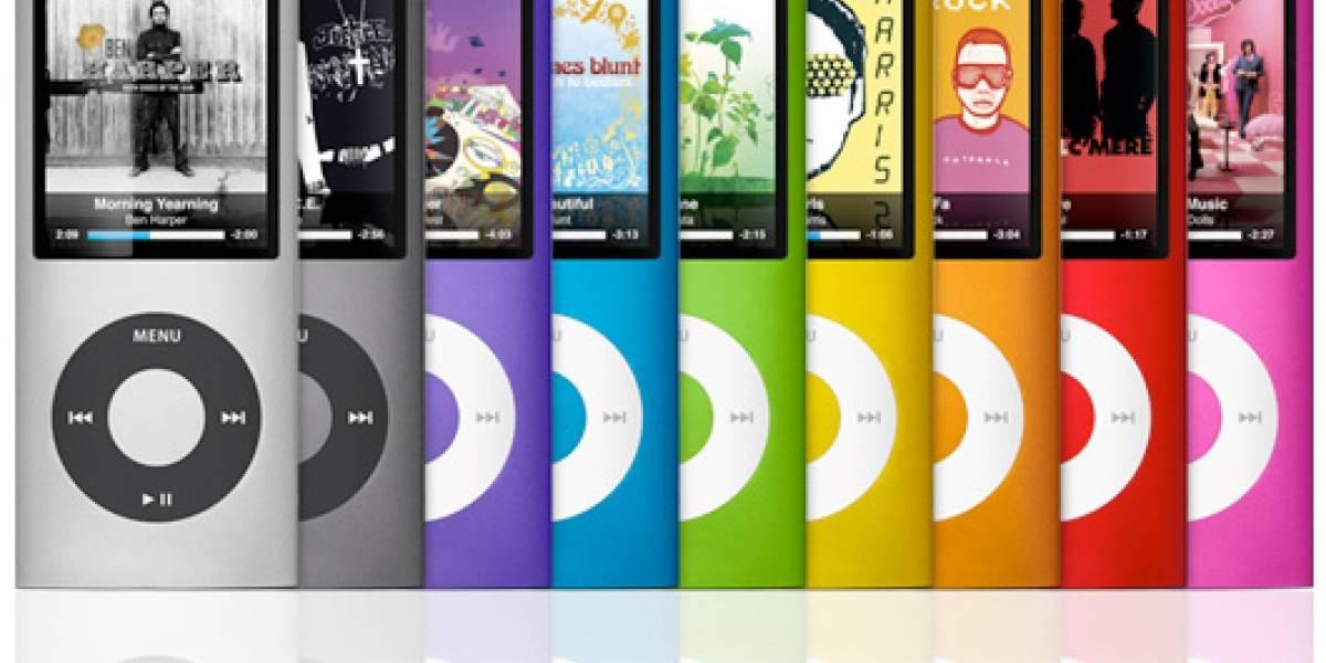 Nuevo iPod nano de 4ta generación
