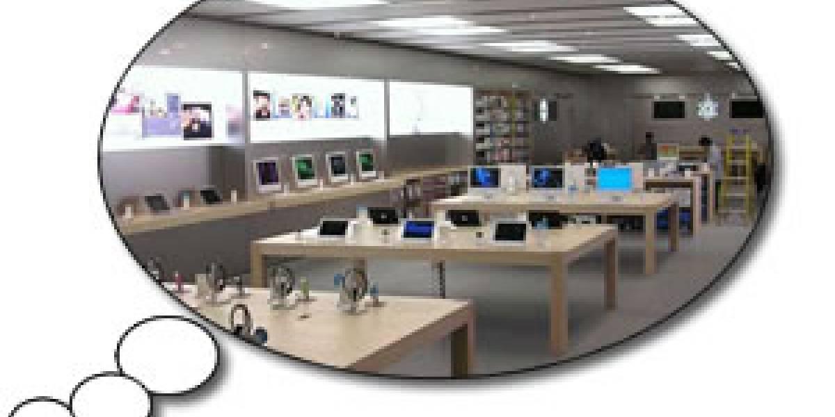 Futurología: Apple armó una tienda para filmar un comercial súper-secreto