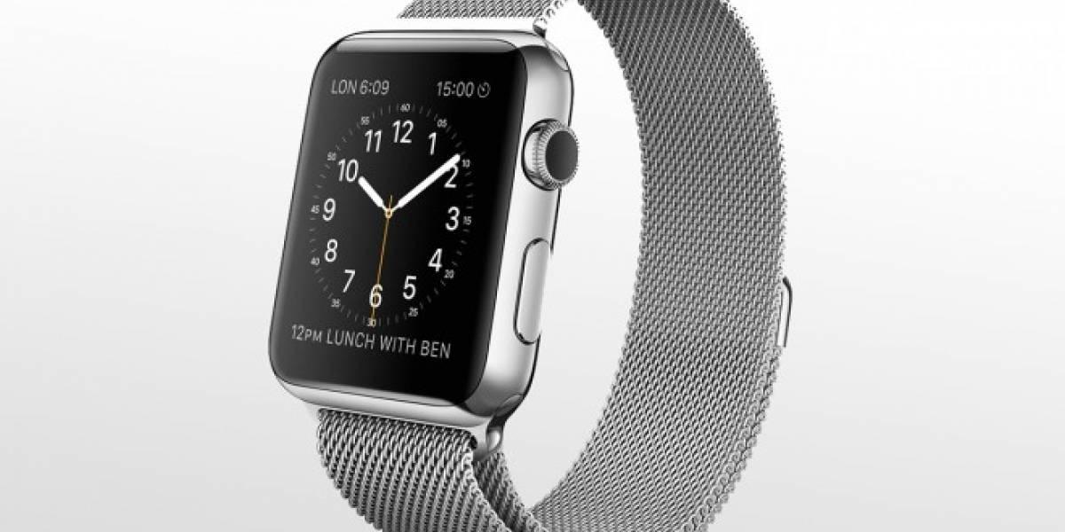Confirman que batería del Apple Watch es reemplazable