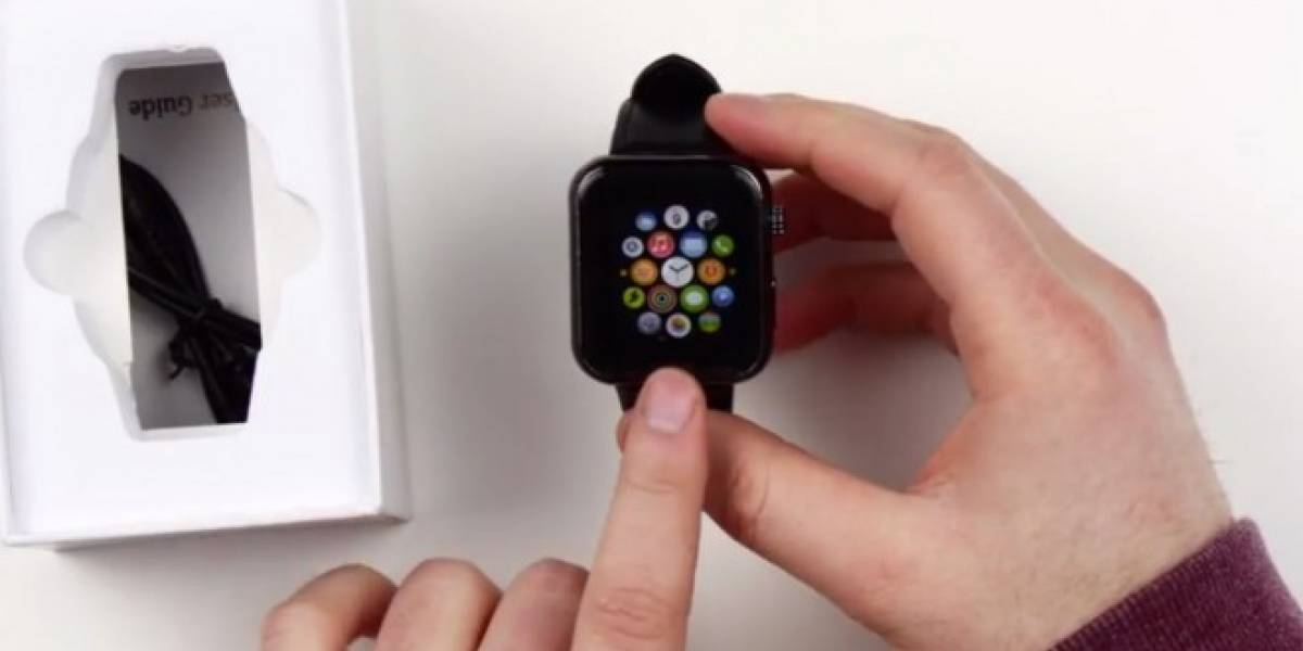 Así se vería el Apple Watch con sistema operativo Android