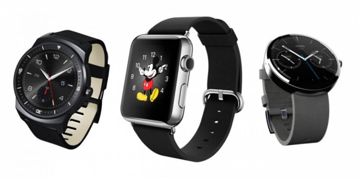 Tabla comparativa: Apple Watch vs Smartwatch actuales
