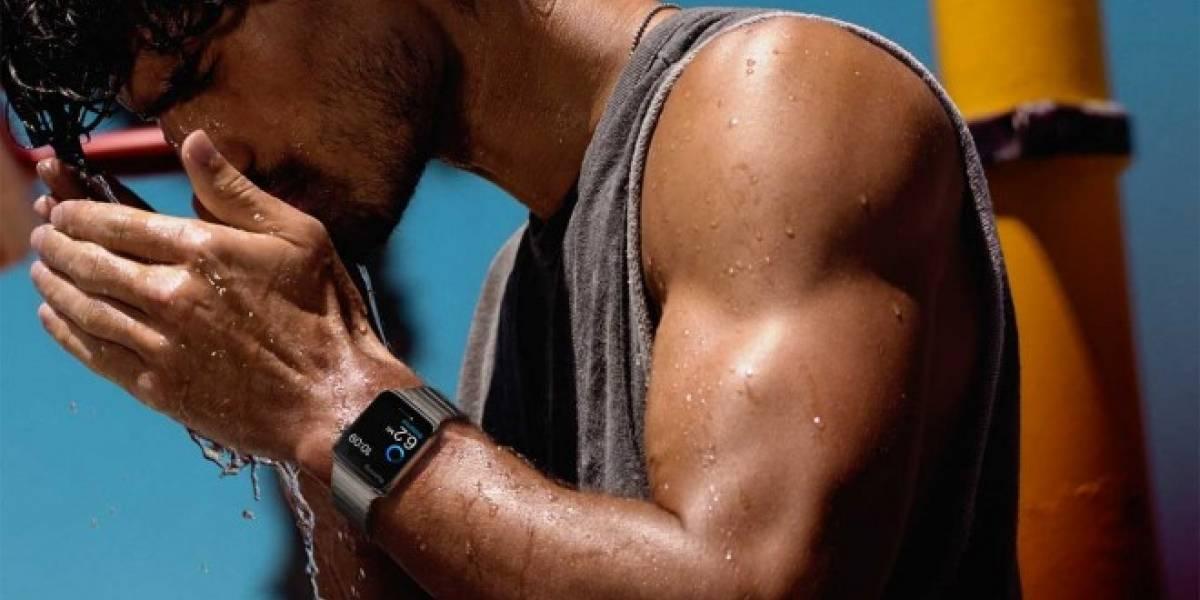 Apple Watch es resistente al agua, pero no puedes sumergirlo