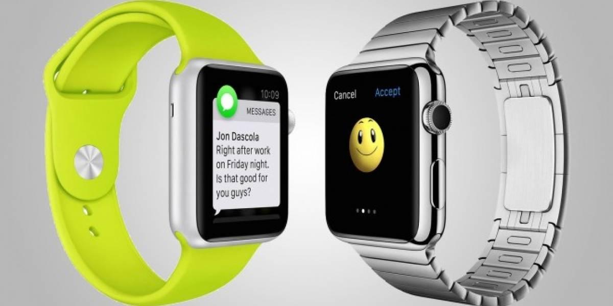 Batería de Apple Watch durará tan poco como cualquier otro smartwatch