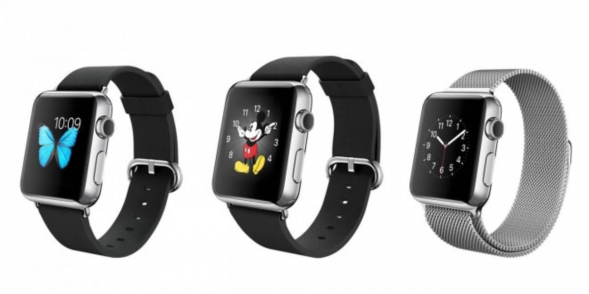 Estos son los precios de las diferentes versiones del Apple Watch