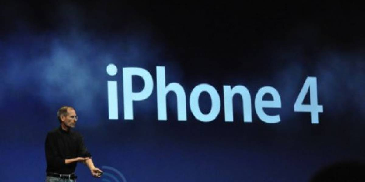 WWDC10: Steve Jobs anuncia iPhone 4