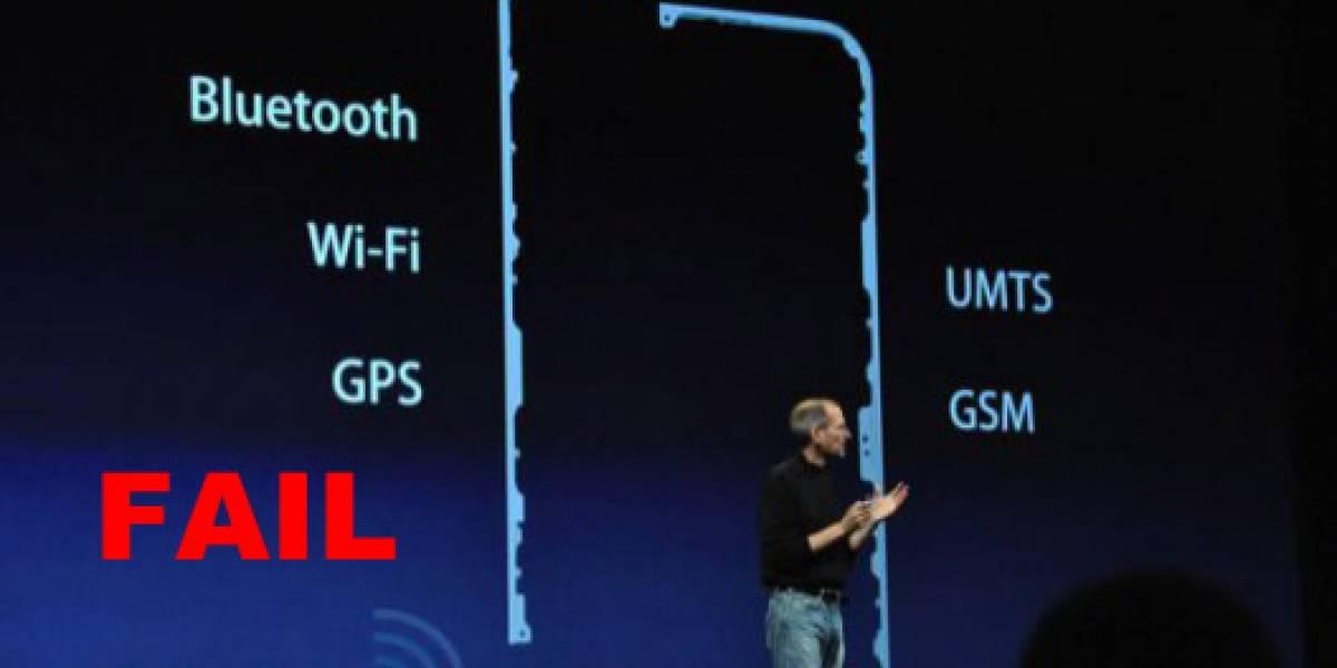 Problema en la señal de iPhone 4 se solucionaría vía software