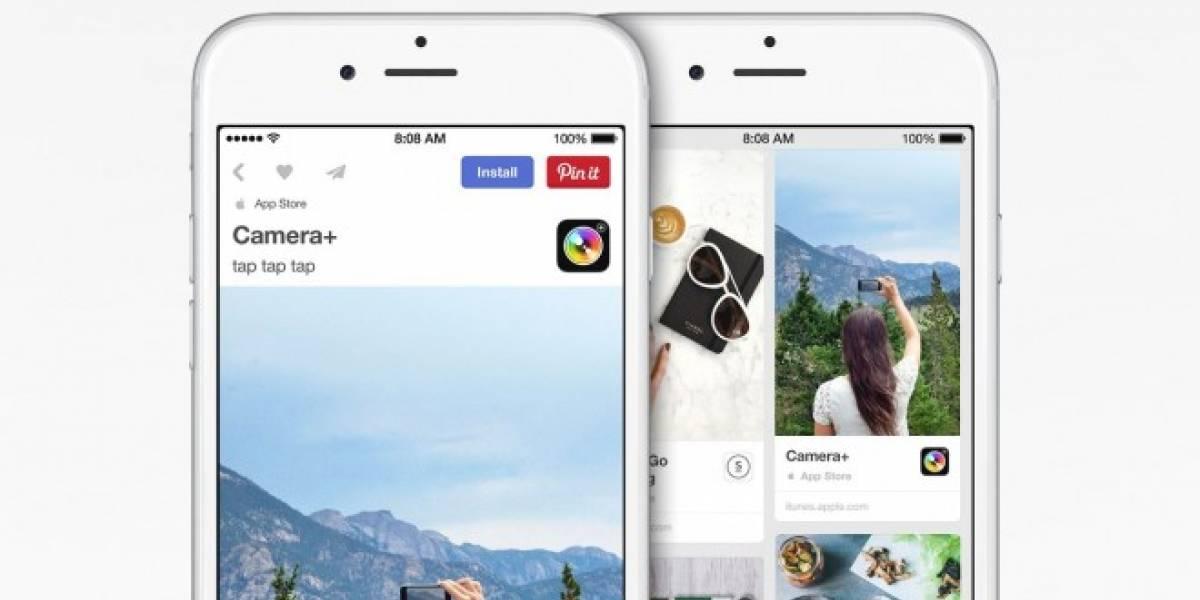 Pinterest ahora permite descargar apps para iOS desde su propia plataforma