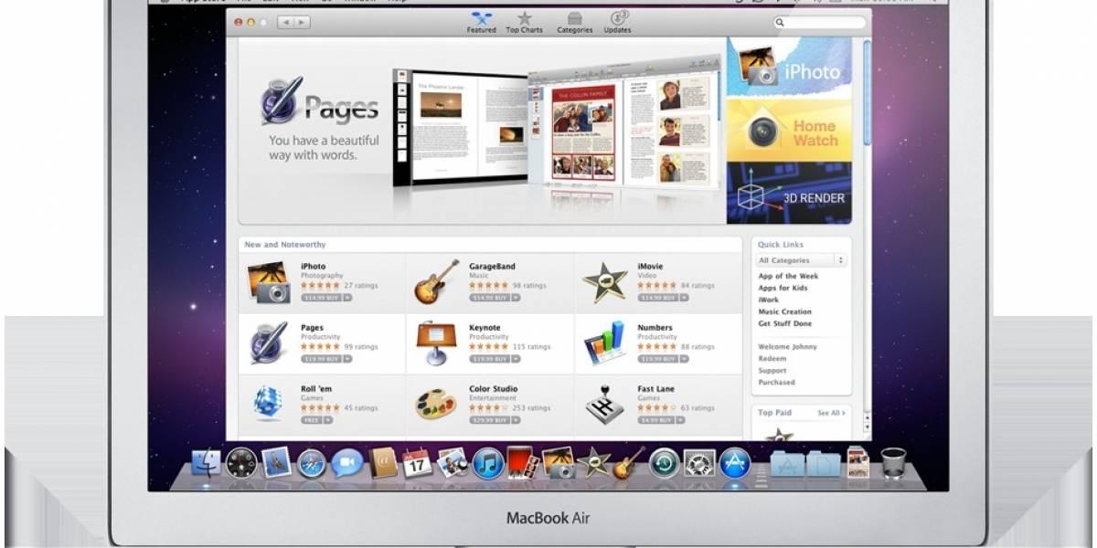 Mac App Store en 21 días más