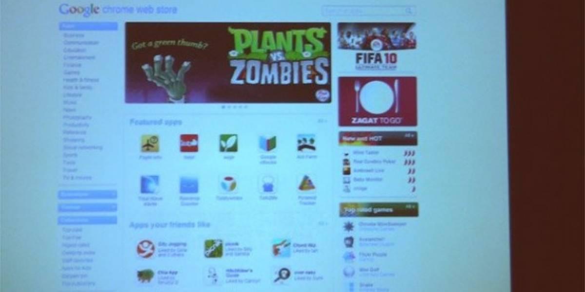 Chrome Web Store llegaría en octubre y tiene un parecido a la App Store