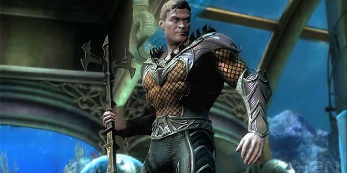 Aquaman se suma a la plantilla de Injustice: Gods Among Us