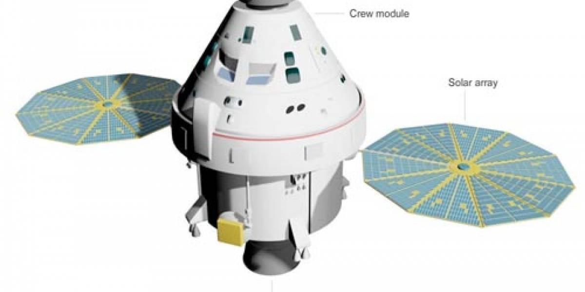 Las nuevas naves de la NASA