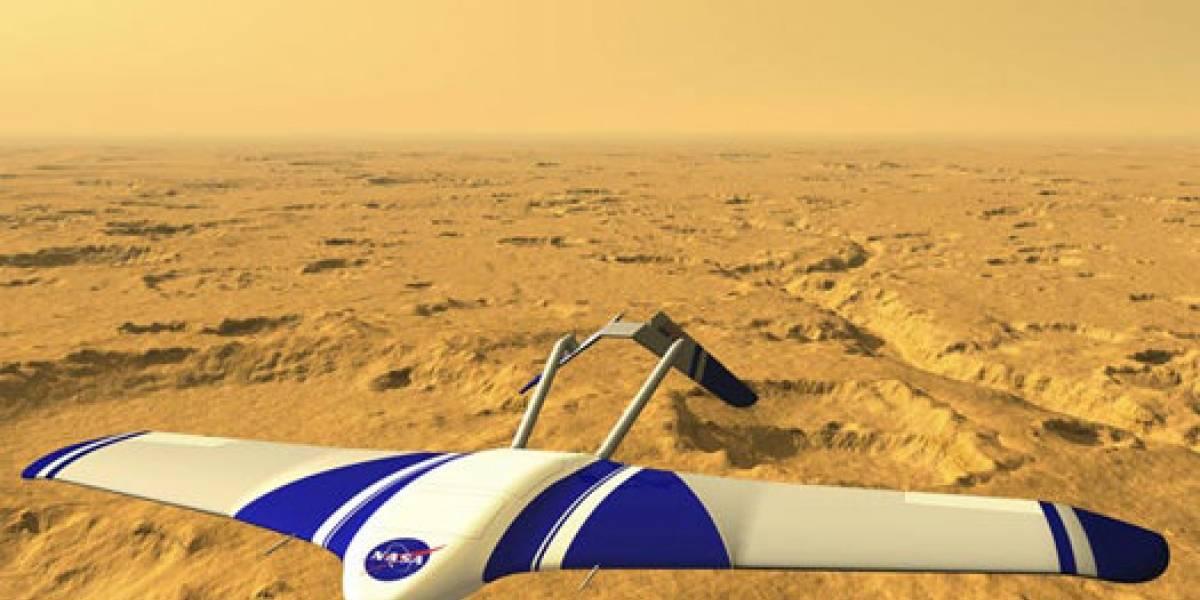 NASA avanza en el desarrollo de ARES, un planeador para explorar Marte
